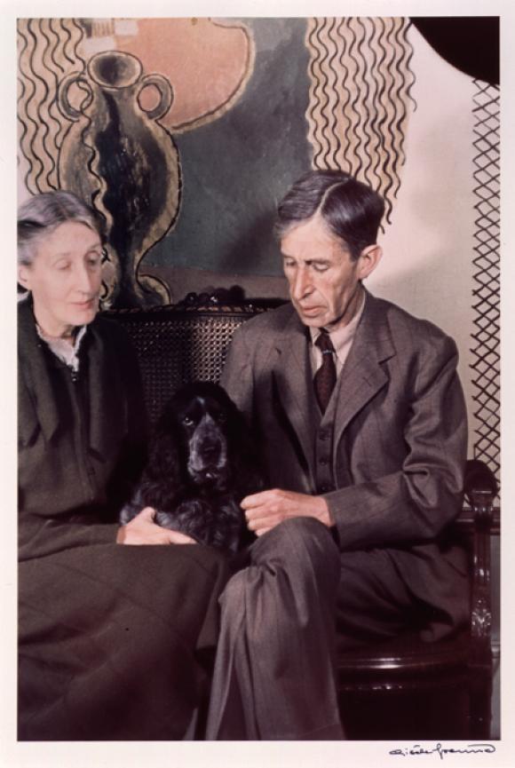 Leonard und Virginia Woolf, Foto von Gisele Freund © Estate Gisele Freund/IMEC I