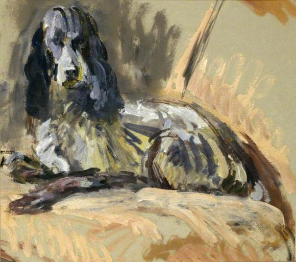 Vanessa Bell, Leonard Woolf's Dog Sally