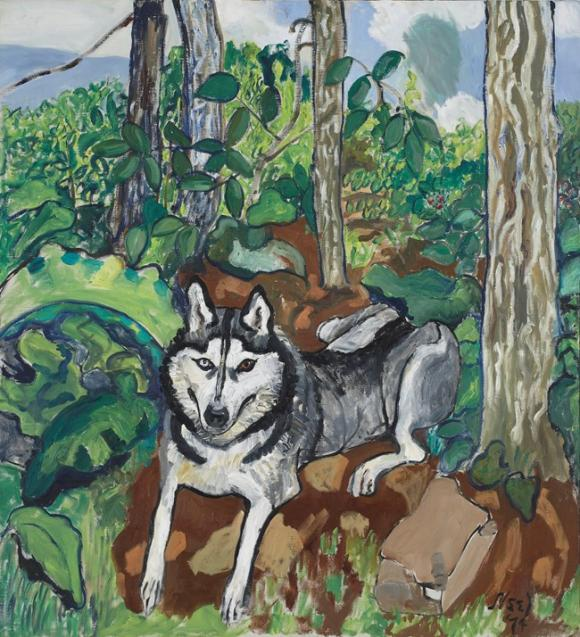 Alice Neel, Lushka, 1974, Courtesy the Artist's Estate and Victoria Miro, London