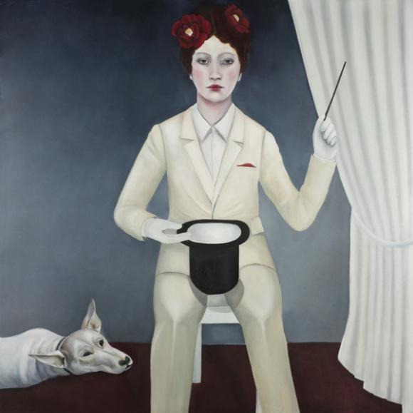 Lucian's Dog, 2008 © Nina Mambourg