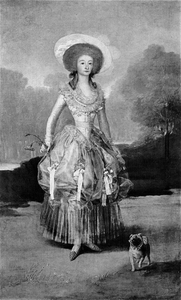 Marta Klonowska, La Marquesa de Pontejos nach Francisco de Goya,2010, Foto lorch