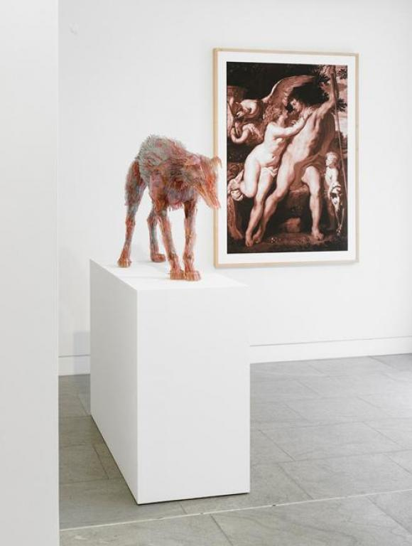 Marta Klonowska, Venus und Adonis nach Peter Paul Rubens, 2008, Foto lorch+seide