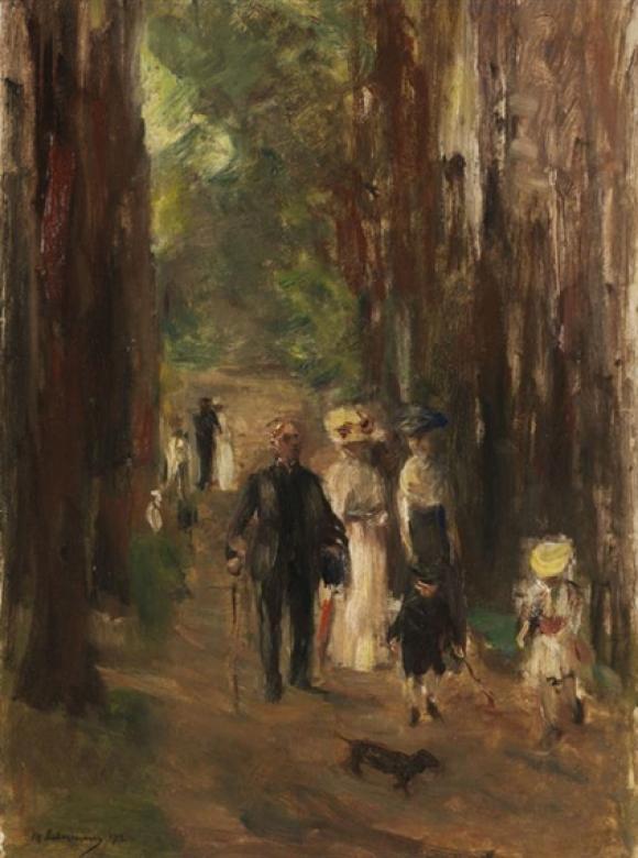 Max Liebermann, Aus dem Grunewald, 1912