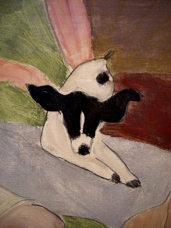Milton Avery, The Green Settee, 1943