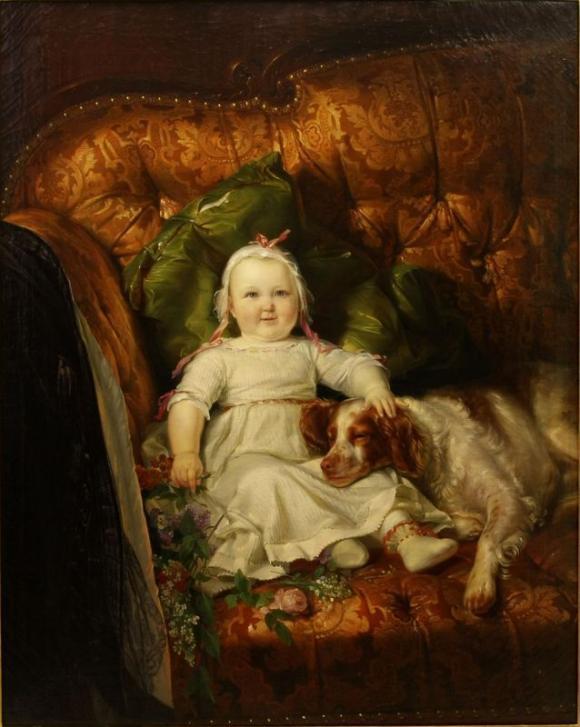 Carl Engel von der Rabenau - Kinderbild