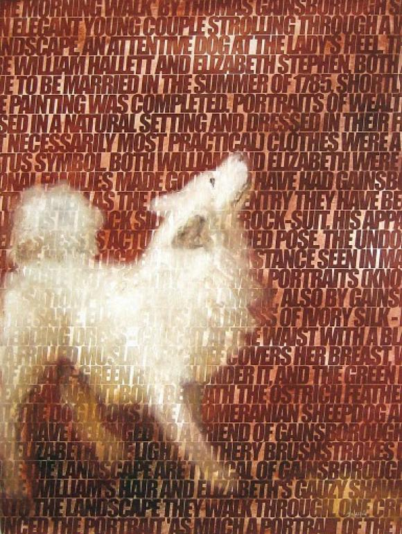 Ricardo Mojardin - Cave Canem nach Gainsborough