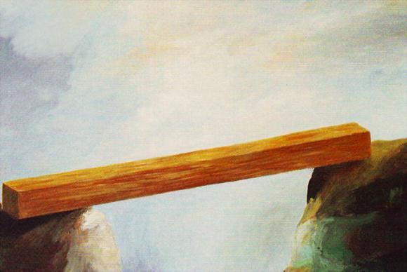 Alois Mosbacher, Die Brücke, 1985