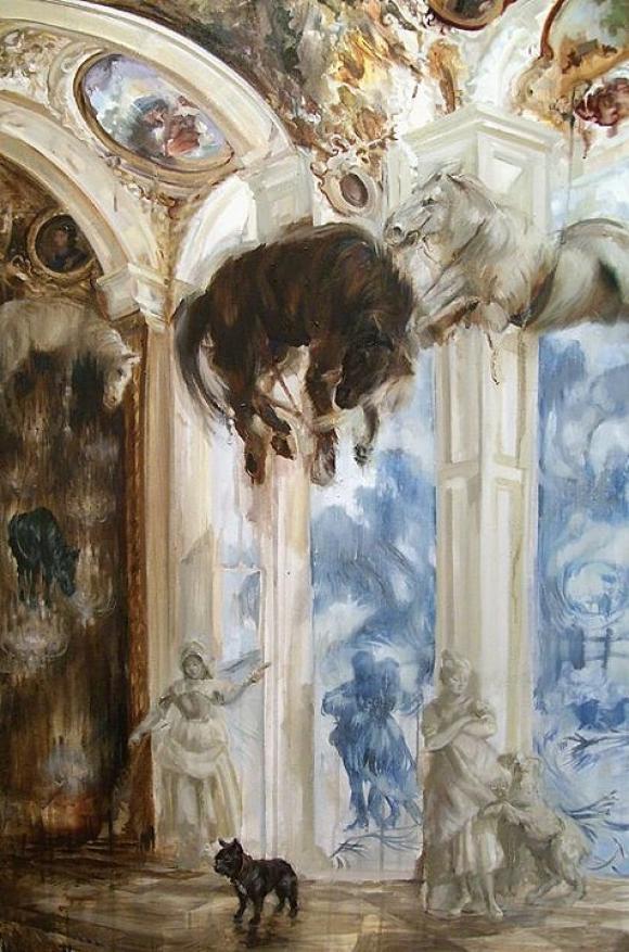 Napoleon's Colic 2012 © Sarah McRae Morton