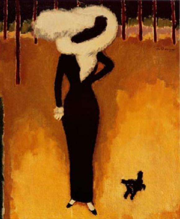 Parisienne (Woman with a dog) © Kees van Dongen
