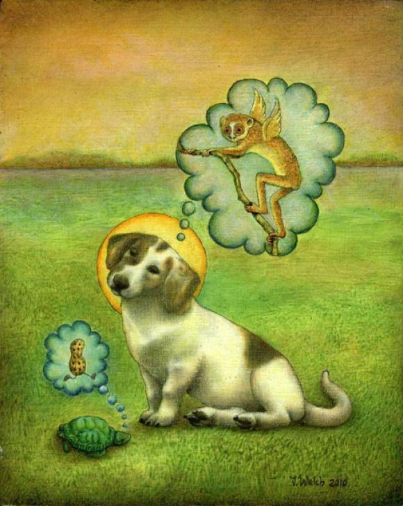 Patron Saint of the Pokey © Jacqueline Welch