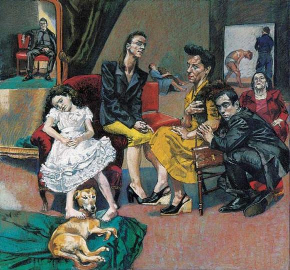 The Betrothal, 1999 © Paula Rego