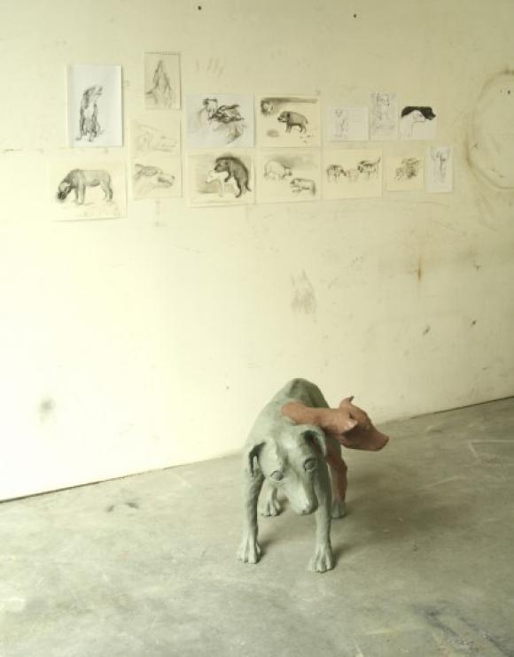 Pawlowscher Hund, 2008 © Tanja Fender