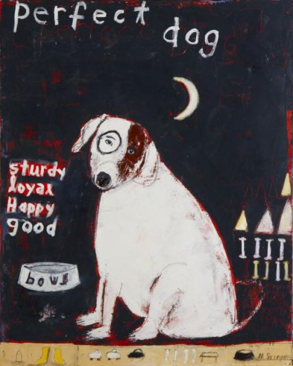 Perfect Dog © Mary Scrimgeour
