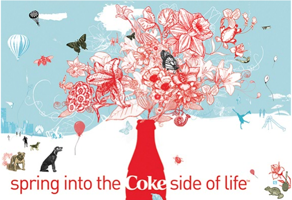 The Coke Side Of Life © Tara Hardy