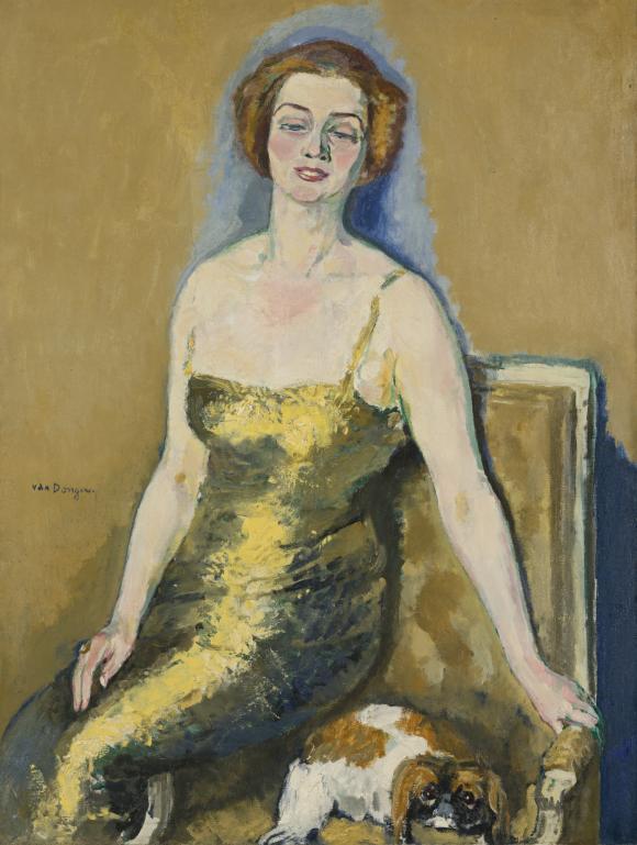 Portrait de Madame van der Velde © Kees van Dongen