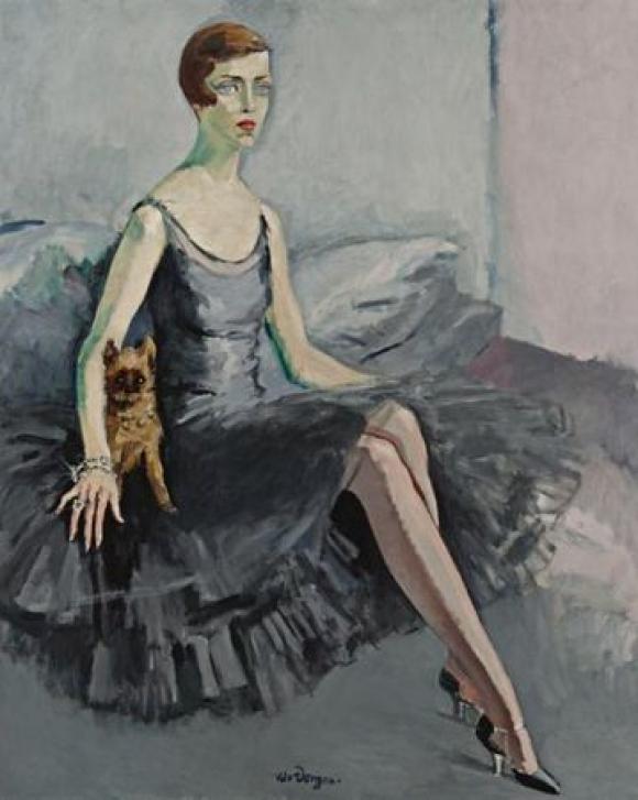 Portrait de Ms Jean McKelvie Sclater-Booth, 1920 © Kees van Dongen