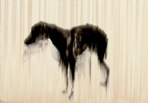 Rachel Howard, Black Dog, 2007