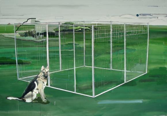 Rafael Zavagli, It's a dog house, 2012