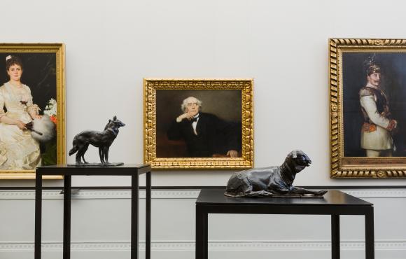 Rembrandt Bugatti Ausstellungsansicht Alte Nationalgalerie Foto: David von Becke