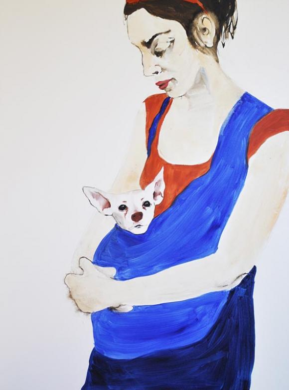 Rita With Dogchild, 2012 © Rita Bolla