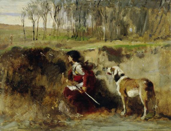 Johann Till der Jüngere, Ritter mit Hund © Belvedere, Wien