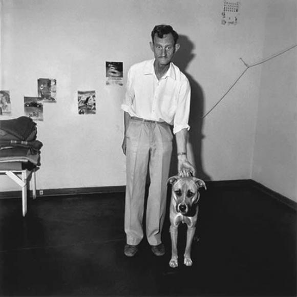 Roger Ballen, Pllatteland, Pensioner With Dog, 1991