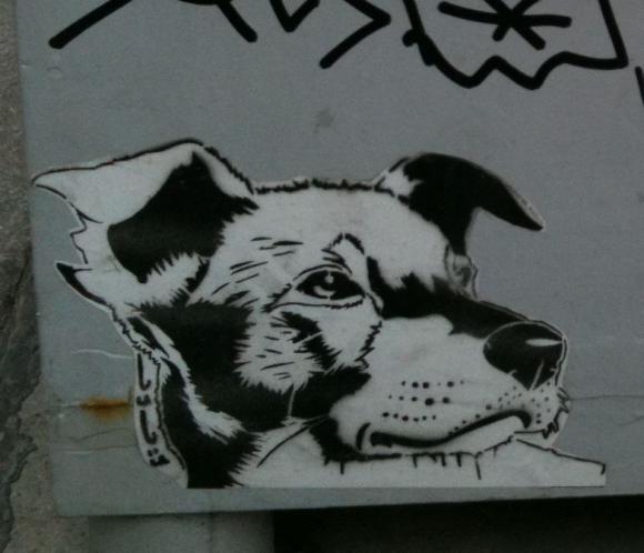 Schablonengraffiti 2