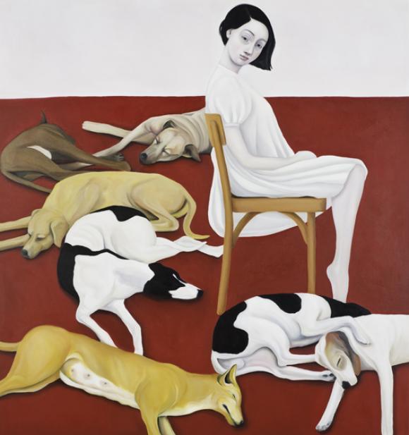 Schlafende Hunde, 2011 © Nina Mambourg