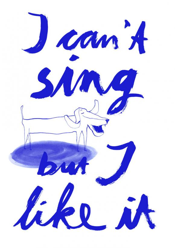 Singing Dog © Maria Fischer