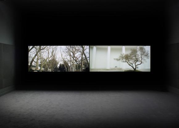 Steve McQueen, Installation mit Filmstills