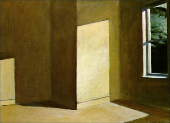 Sun In An Empty Room © Edward Hopper