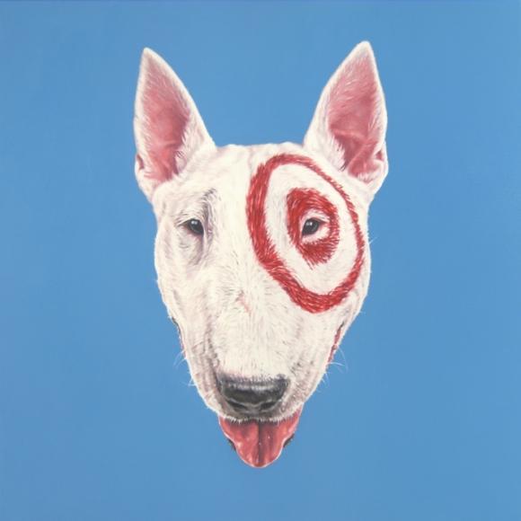 Target Bullseye Dog, 2007 © Scott Lifshutz