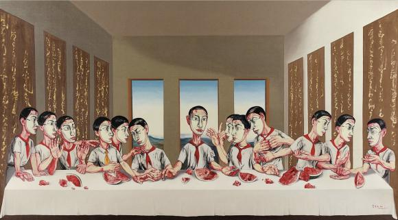 The Last Supper, 2001 © Zeng Fanzhi