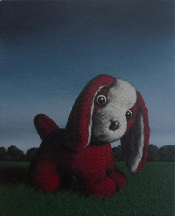 The red dog © Peter Jones