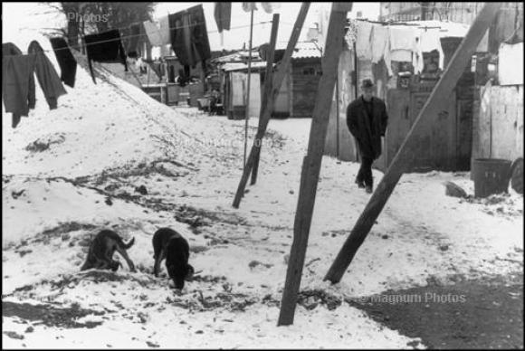 Henri Cartier-Bresson: Auberviliers, 1971