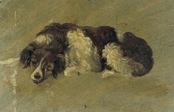 Theo van Doesberg: Hund, 1889