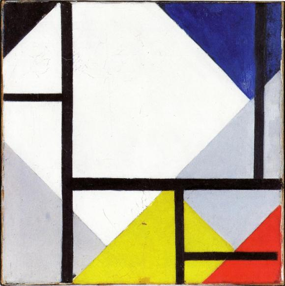 Theo van Doesburg. Simultaneous Counter-Composition. 1929