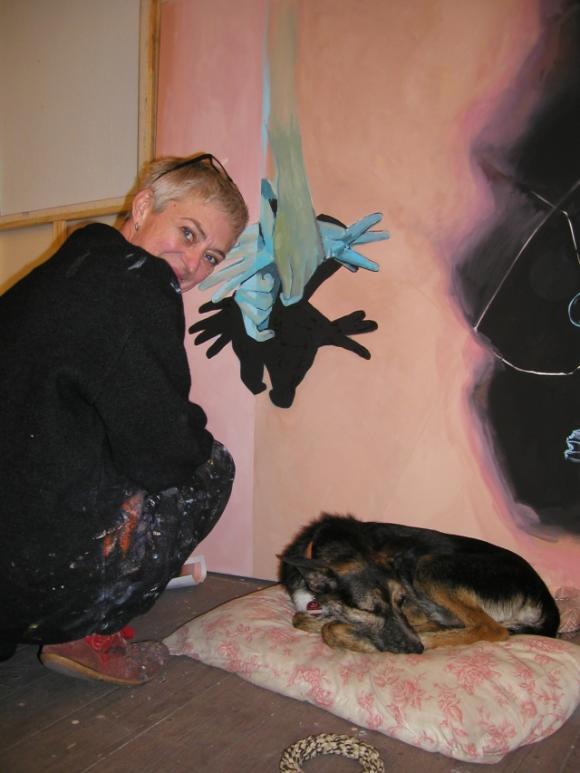 Veronika Olma und Bazi