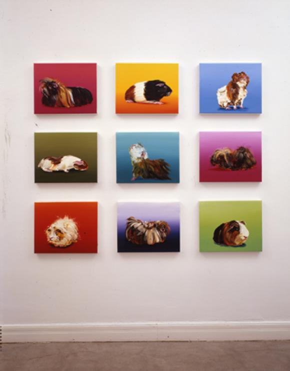Ausstellungsansicht sieshoke galerie düsseldorf