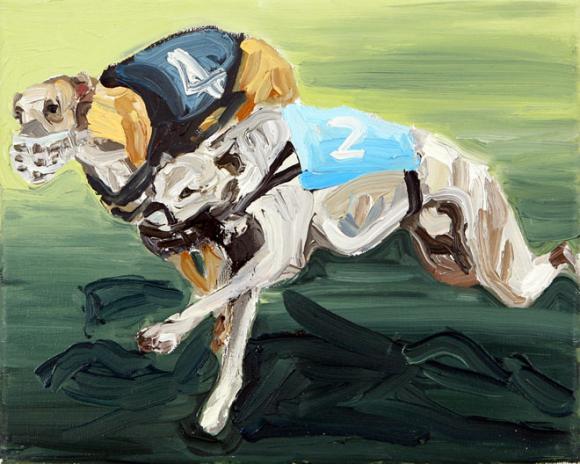 Windhundserie 3 © Hannelore Kroll