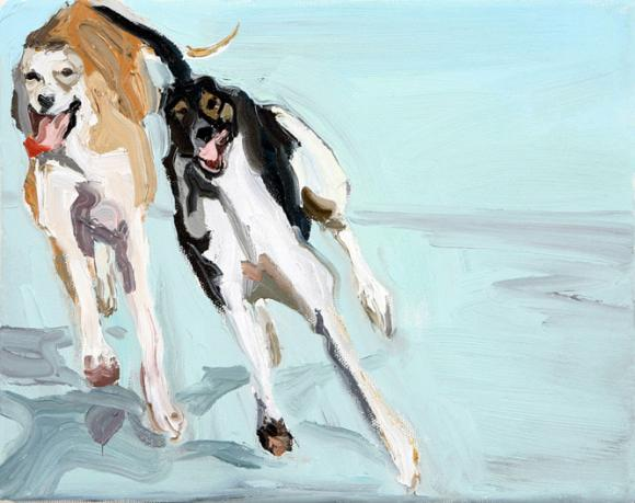 Windhundserie 4 © Hannelore Kroll