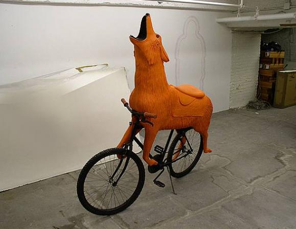 Peter Coffin, wolfcycle, 2006