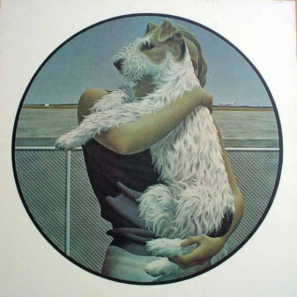 Alex Colville, Woman and Terrier, 1963