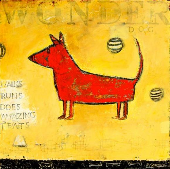 Wonder Dog © Mary Scrimgeour