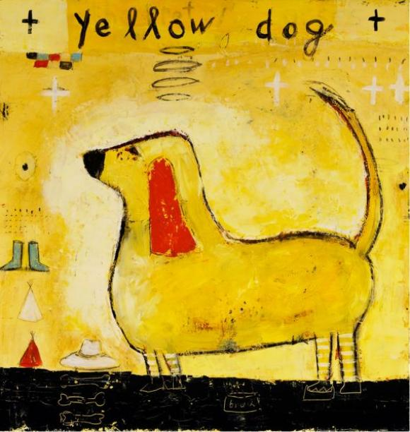 Yellow Dog © Mary Scrimgeour